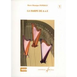 La Harpe de A à Z de Popesco GB6594 le kiosque à musique Avignon