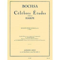 Célèbres Etudes pour Harpe de Bochsa AL20029 Le kiosque à musique Avignon