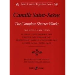 Saint-Saens Complete shorter works 9780571518074 le kiosque à musique Avignon