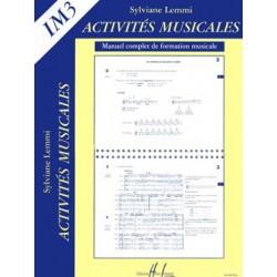 Activités musicales de Lemmi volume 3 Le kiosque à musique Avignon