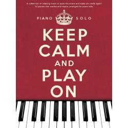 Partition piano Keep calm and play on AM1005037 le kiosque à musique Avignon