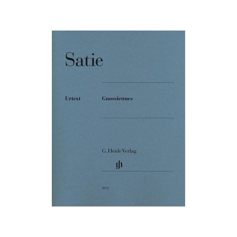 Partition Satie Gnossiennes HN1073 le kiosque à musique Avignon
