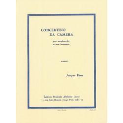 Partition saxophone Jacques Ibert Concertino da camera AL19185 le kiosque à musique Avignon