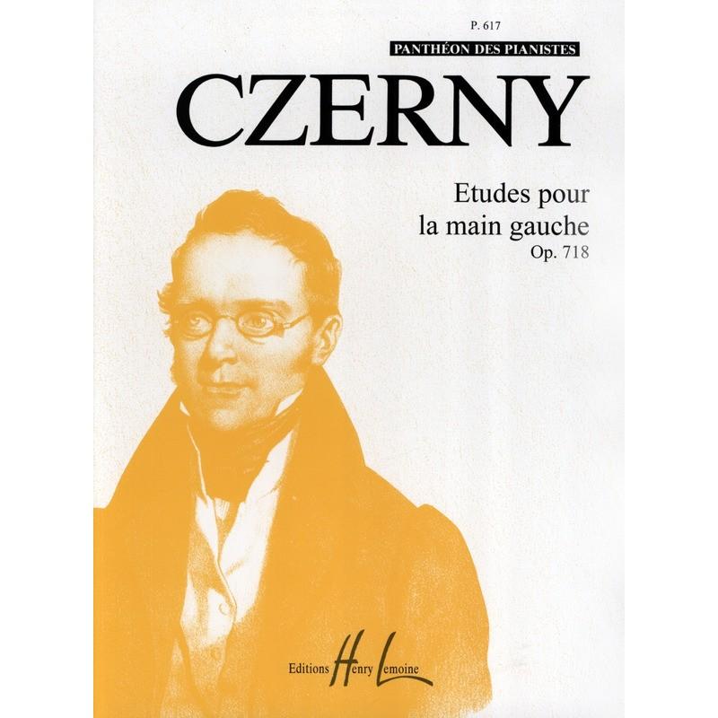 Czerny Etudes main gauche Opus 718 HLP617 le kiosque à musique Avignon