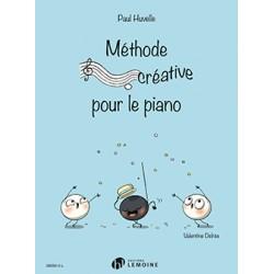 Paul Huvelle Méthode créative pour le piano HL29556 le kiosque à musique Avignon