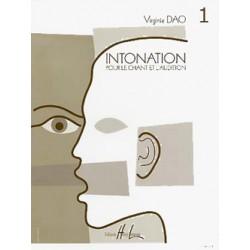 Virginie Dao Intonation volume 1 Elève HL27282 le kiosque à musique Avignon