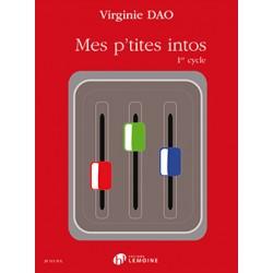 Virginie Dao Mes P'tites intos cycle 1 HL29511 le kiosque à musique Avignon