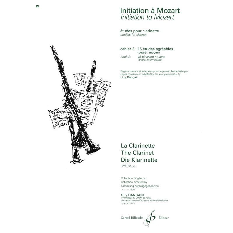 Initiation à Mozart volume 2 clarinette
