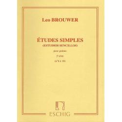 ETUDES SIMPLES - Série n°2 - Etudes n°6 à 10