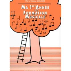 Siciliano Ma 1ère année de formation musicale HC15 le kiosque à musique Avignon