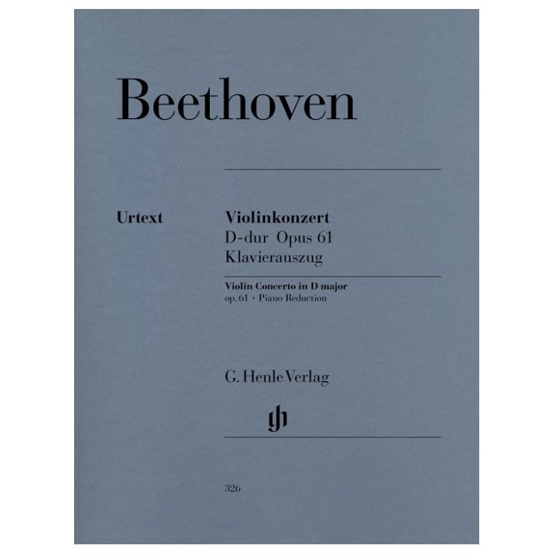 Partition Beethoven concerto violon HN326 le kiosque à musique Avignon