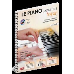 Le piano pour les 9-15 ans volume 2 le kiosque à musique Avignon