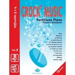 Crock music volume 2 partition piano EBR505 le kiosque à musique Avignon