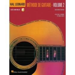 Hal leonard méthode de guitare volume 2 HL00697361 le kiosque à musique Avignon