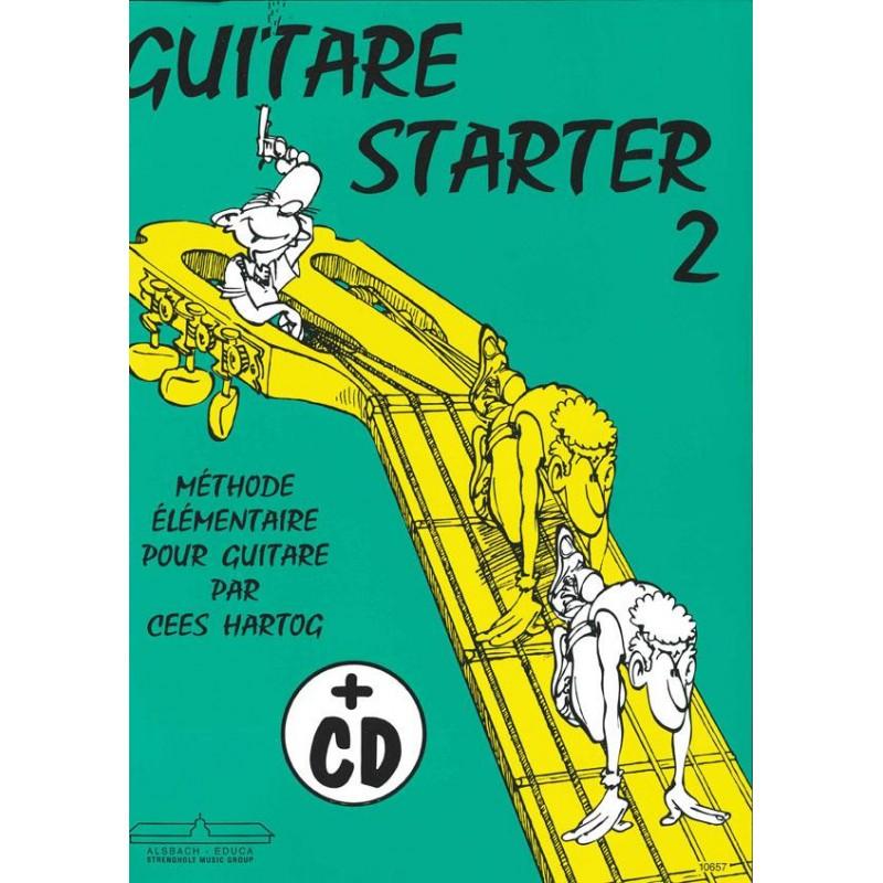 Hartog Guitare starter volume 2 ALB10657 le kiosque à musique Avignon