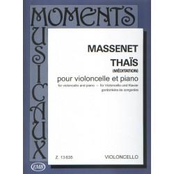 Massenet Méditations de Thaïs pour violoncelle EMB13635 le kiosque à musique Avignon