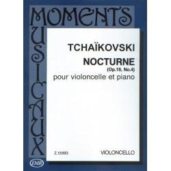 Tchaikowsky Nocturne violoncelle EMB13593 le kiosque à musique Avignon