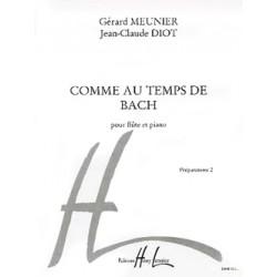 Comme au temps de Bach flûte HL24698 le kiosque à musique Avignon