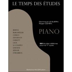 Le temps des études piano HIT60015 Le kiosque à musique Avignon