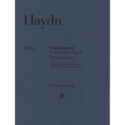 Partition violon Haydn Concerto Sol Majeur HN448 le kiosque à musique Avignon
