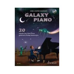 Partition Heumann Galaxy piano ED23203 le kiosque à musique Avignon