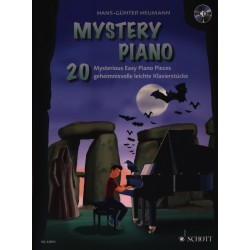 Heumann Mystery piano Ed22833 Le kiosque à musique Avignon