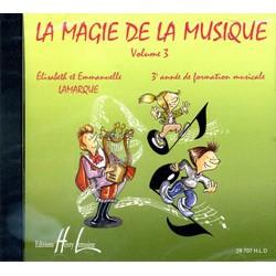 Lamarque La Magie de la musique V3 - le CD - Le kiosque à musique Avignon