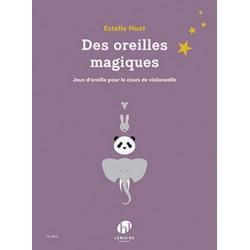 Partition Des Oreilles Magiques violoncelle HL29456 Le kiosque à musique Avignon