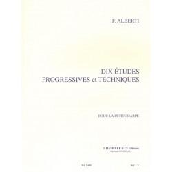 Etudes pour harpe d'Alberti Avignon Le kiosque à musique Avignon