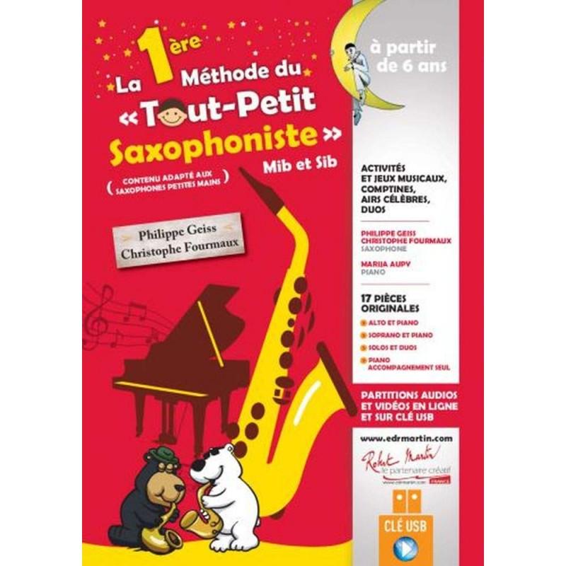 1ère méthode du tout petit saxophoniste Le kiosque à musique Avignon