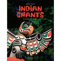 Partition INDIAN CHANTS  Barenreiter BA9402 Le kiosque a musique Avignon