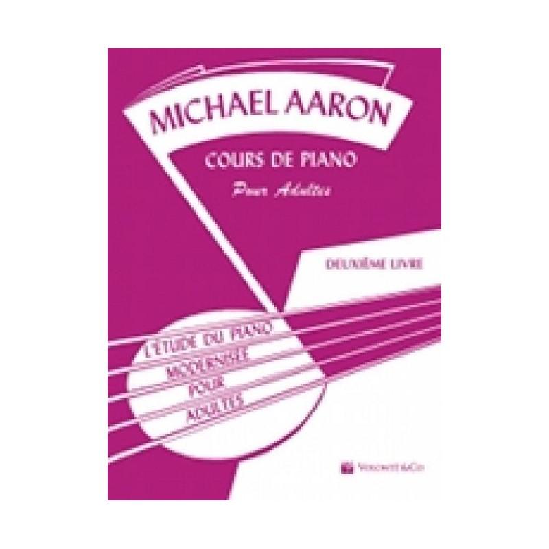Méthode piano Aaron adultes volume 2 MB23 Le kiosque à musique Avignon