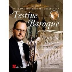 Partition trompette Festive Baroque DHP1033419 Le kiosque à musique Avignon