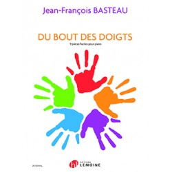 Jean-françois Basteau Du Bout des Doigts Partition piano  Le kiosque à musique Avignon