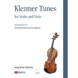 KLEZMER TUNES FOR VIOLIN AND VIOLA HS279 Le kiosque à musique Avignon