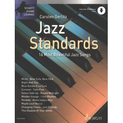 CARSTEN GERLITZ JAZZ STANDARDS ED20741D Le kiosque à musique Avignon