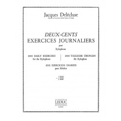 DELECLUSE EXERCICES JOURNALIERS AL24960 Le kiosque à musique Avignon