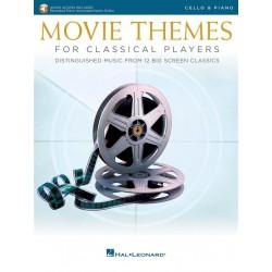 MOVIE THEMES for classical players violoncelle HL00284607 le kiosque à musique Avignon
