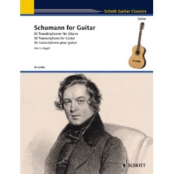 Schumann for guitar SCHOTT Le kiosque à musique Avignon