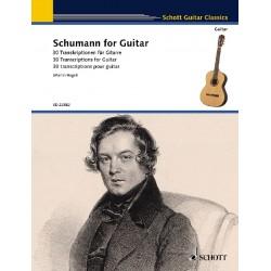 Schumann for guitar SCHOTT Le kiosque à musique Avignon