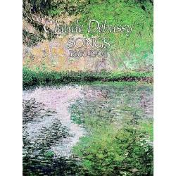PARTITION DEBUSSY SONGS 1880-1904 DOVER LE KIOSQUE A MUSIQUE