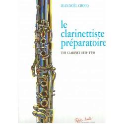 Partition le clarinettiste préparétoire RM2551 Le kiosque à musique Avignon