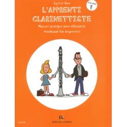 PARTITION L'APPRENTI CLARINETTISTE C05738 Le kiosque musique Avignon