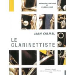 Partition Jean Calmel : Le Clarinettiste - Le kiosque à musique Avignon