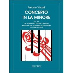 Partition violoncelle Vivaldi Concerto en la mineur - le kiosque à musique Avignon
