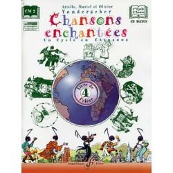 CHANSONS ENCHANTEES VOLUME 4 ELEVE GB8377 Kiosque musique Avignon