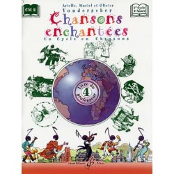 Chansons enchantées volume 4 livre professeur GB8909 kiosque musique Avignon