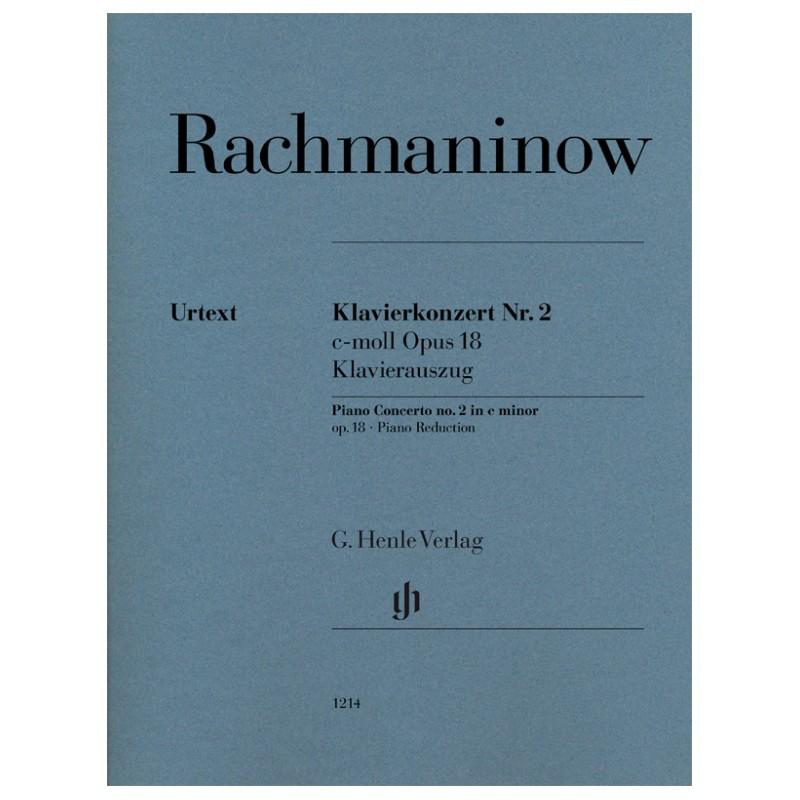 Partition Rachmaninoff Concerto piano n°2 Urtext Henle HN1214 Kiosque musique Avignon
