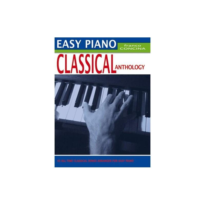 Partition piano Easy Piano Classical Anthology Franco Concina MB397 Kiosque musique Avignon