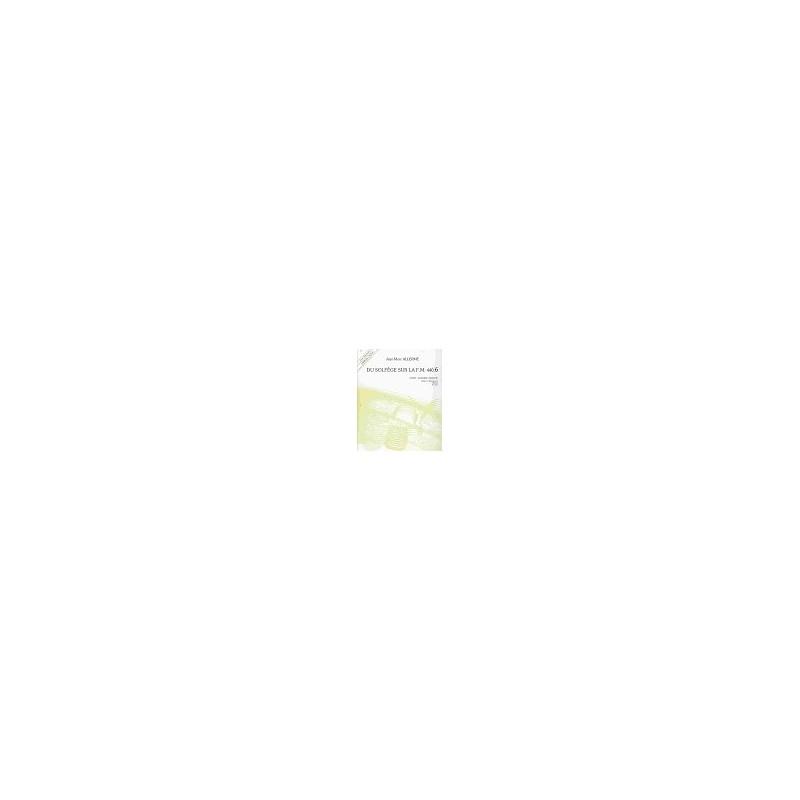 DU SOLFEGE SUR LA FM 440.6 CHANT AUD. ANAL. - ELEVE+CD